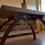 Statmeno uosio kaladėlių kavos staliukas