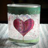 Žvakidė Širdys Valentinui