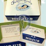 Krikštynų dėžutė berniukui