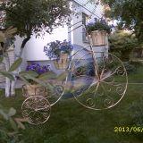 Gėlių dviratis