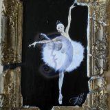 Senojo teatro balerina
