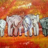4 drambliai