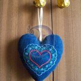 Džinsinė širdelė