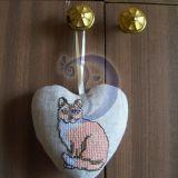 Širdelė su katytė