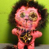 Liūtas žaisliukas woodoo lėlytė