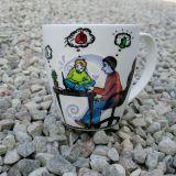 Dovana puodelis seneliui