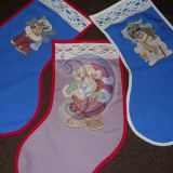 Kalėdinės dovanų kojinės