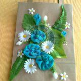 Dovanų maišelis turkio spalvos dovanai