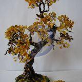 Дерево денежное из янтаря своими руками 14
