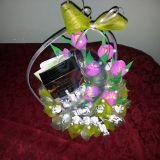 Alyvinės tulpės