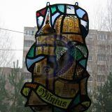 Vilnius, klasikinis vitrazas