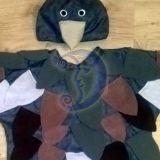 Žvirblio, paukščio karnavalinis kostiuma
