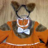 Voveraitės karnavalinis kostiumas mergai