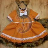 Voverės karnavalinis kostiumas mergaitei