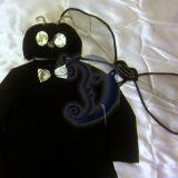 Musės, uodo, vabzdžio kostiumas