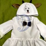 Ožkytės, ožkos karnavalinis kostiumas