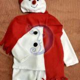 Sniego senio, besmegenio kostiumas