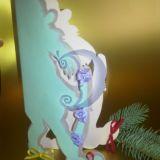 Naujametinis atvirukas - Kalėdų senis