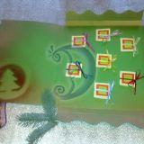 Kalėdinis-naujametinis atvirukas - vokas