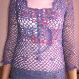 Violetinė tunika