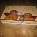 Krikšto dėžutė ANGELIUKAI