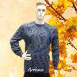 Pilkas vyriškinis megztinis