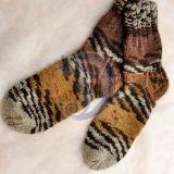 Raštuotos kojinės
