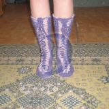 Kojines, suvarstomos priekyje