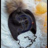 Šilta merjno vilnos kepurytė