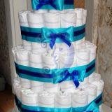tortas iš sauskelnių