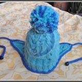 Žydra kepurė