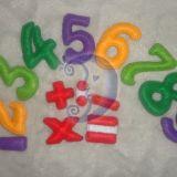 Minkšti spalvoti skaičiai
