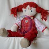 Tekstilės lėlė Anet