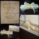 Vestuviniai kvietimai-dėžutė