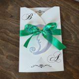 Vestuvinis kvietimas Žaliasis smaragdas