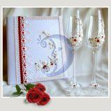 Dekoruotos vestuvines taures jauniesiems