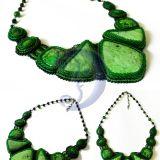 žalias vėrinys