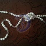 Baltų perlų vėrinys