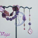 Violetinės kriauklės