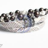 Swarovski perlų apyrankė