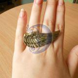 Žiedas - sparnas