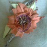 Ruda gėlė