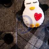 Sagė - pingviniukas