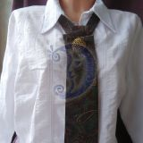 Vyro kaklaraištis kitaip