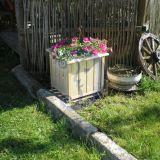 stovas-vazonas gėlėms