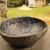 Juodos keramikos dubuo