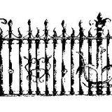 Kalvio darbai tvoroms, tvoros